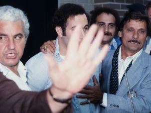 The arrest of David Berkowitz, aka Son of Sam