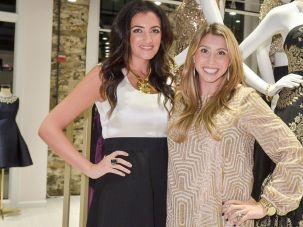 Co-founders Jenn Hyman and Jenny Fleiss attend the Rent the Runway DC store Opening at Rent The Runway on November 24, 2014 in Washington, DC.