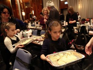 A Chabad family kosher fest.