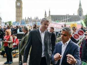 Candidates:  Zac Goldsmith (left) or Sadiq Khan will be the next mayor of London.