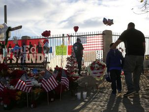 Community mourns at San Bernadino