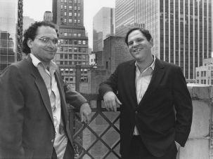 Harvey Weinstein and Bob Weinstein
