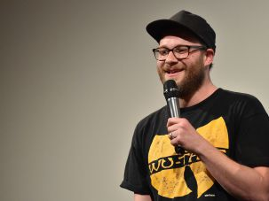 "Seth Rogen discussing ""Sausage Party (Work in Progress)"" at 2016 SXSW Music, Arts, + Interactive Festival"