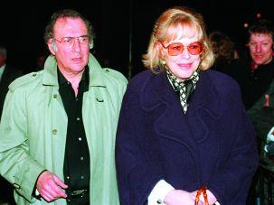 Harold Pinter and Antonia Fraser