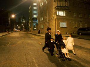 A Hasidic family on Rosh Hashanah in Brooklyn in 2005.