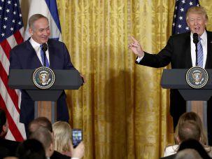 Trump and Netanyahu on Wednesday.