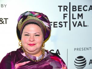 "Filmmaker Rama Burshtein at the New York premiere for ""The Wedding Plan"""