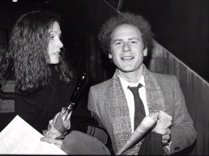 Art Garfunkel with Edie Baskind