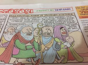 Girgir's Moses Cartoon
