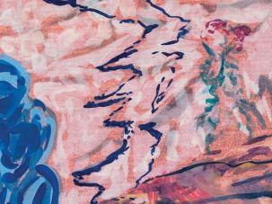 "Abraham Kritzman ""On the Mountain""  oil on canvas, 2016"
