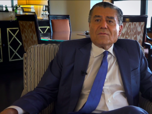 """Haim Saban speaks about political donations in the HBO documentary """"Meet the Donors,"""" by filmmaker Alexandra Pelosi."""