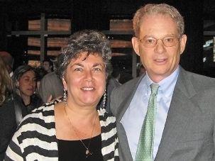 Special Envoy: Hannah Rosenthal (left) and Tom Bernstein.