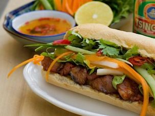 Flavors of the East: Tel Avivians can now snack on traditional Vietnamese bahn mi at the charming Hanoi Restaurant.