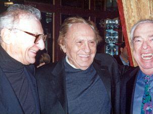 Sheldon Harnick,  Joseph Stein and Jerry Boc