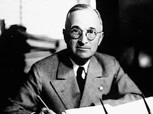 The Buck Didn't Stop There: The core of John Judis's book details how President Truman supposedly folded to the burgeoning pro-Israel lobby.