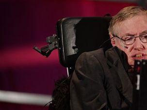 British astrophysicist Stephen Hawking