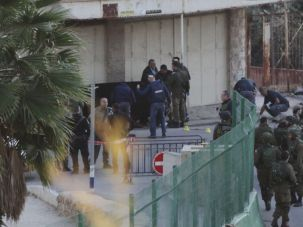 Israeli stabbed, Palestinian assailant shot dead, in Hebron.