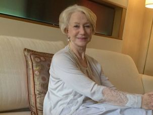 The Audience: Ensconced in a suite at Manhattan's Essex House, Helen Mirren gracefully admits journalist after journalist.