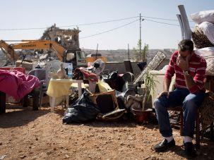 A 2013 home demolition in East Jerusalem