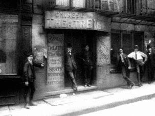 Putting the East in Lower East Side: In 1903, the Chinese Theatre (pictured above) hosted a fundraising event to aid the Jews of Kishinev.