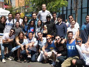 Jewish students at Brooklyn college.
