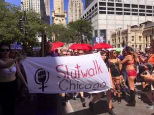 The Chicago SlutWalk goes on the march.