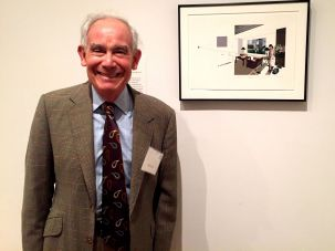 "The Collector: Keith Sachs at the exhibition ""Embracing the Contemporary: The Keith L. and Katherine Sachs Collection."