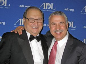Abe Foxman with Tom Friedman