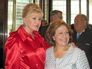 Ivana Trump and Katherine of Serbia