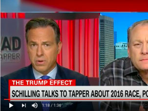 Jake Tapper initiates Curt Schilling into the mysteries of Jewish nationalism, tribal affiliation and political identity.