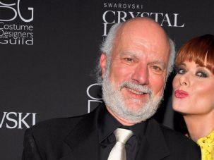 Jim Burrows and Debra Messing
