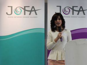 Dina Brawer, Orthodox Jewish British feminist