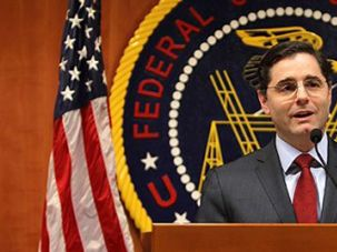 Media Czar: Julius Genachowski?s rise from a Long Island yeshiva to the chairman of the Federal Communications Commission puts him in command of regulating the Internet.