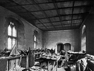 Big Find: Solomon Schechter studies documents from the Cairo Genizah in 1895.
