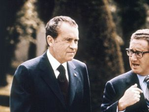Realpolitik: Despite his frequent anti-Semitic outbursts, President Richard M. Nixon trusted Henry Kissinger as one of his closest advisers and the architect of detente, his foreign policy approach.