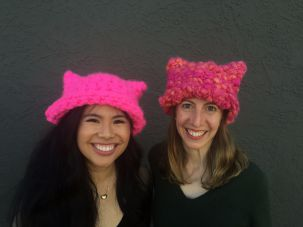 Jayna Zweiman, co-creator of the Pussyhat