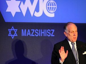 Slanderous Claims: Ronald Lauder, president of the World Jewish Congress, accuses Polish Forbes of slander in an article that says the organization mismanaged Holocaust restitution funds.