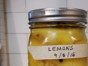 Garnish your Sukkot meal — and table — with homemade Moroccan preserved lemons.