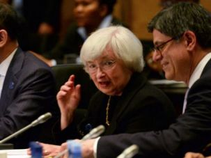 Jewish Power: Treasury Secretary Jacob Lew and Chairwoman of the Federal Reserve Janet Yellin.