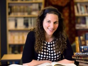 Trailblazing Orthodox rabbi Lila Kagedan.