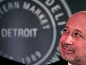 Moving On Up: Goldman Sachs CEO Lloyd Blankfein grew up in public housing in the East New York section of Brooklyn.