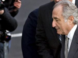 Thief: Bernard Madoff, above, will not be allowed to leave prison to attend the funeral of his son, Mark Madoff, who hanged himself on the second anniversary of the exposure of the Ponzi scheme.