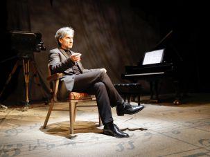 Hershey Felder stars as Leonard Bernstein in MAESTRO at 59E59 Theaters.