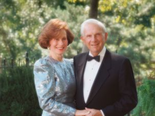 Marion and Henry Bloch in 1994.