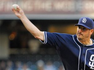 A Marquis Athlete: Jason Marquis, a pitcher for the San Diego Padres, won eight straight games earlier this year.