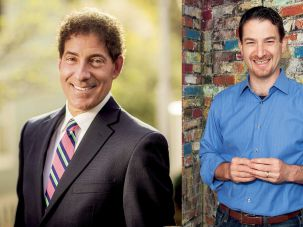 Jamie Raskin (R) and Joel Rubin (L) are running for Maryland congressional seat