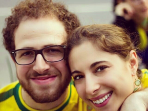 Eliana and Christian met and fell in love on an Israel program.