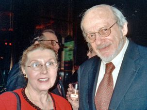 Masha Leon and E.L. Doctorow in 2006