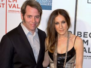 Matthew Broderick and Sarah Jessica Parker at the 2009 Tribeca Film Festival.