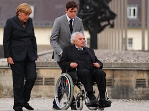 Jewish Connection: In 2013 Angela Merkel became the first German head of state to visit Dachau.